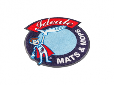 Nylon schoonloopmat met logo